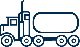 icon for high volume fuel trucks